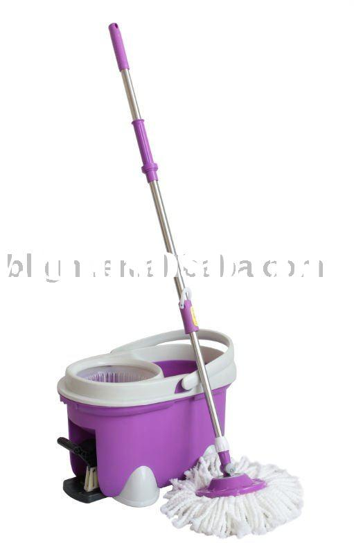 2011 NEW DESIGN MAGIC MOP,SPIN MOP,QQ BUCKET HAND PRESS SPIN GO MAGIC MOP