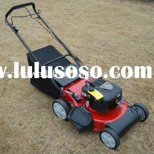 "21"" self-propelled lawn mower, big wheel & front cover"