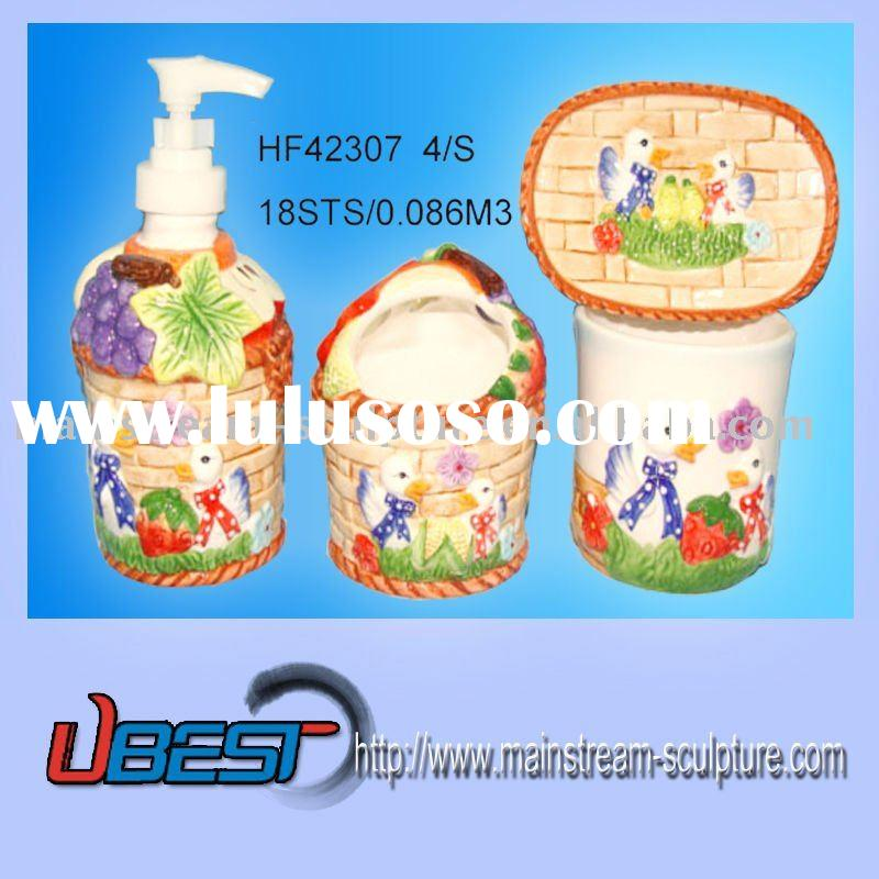 4/S Ceramic Bathroom Accessories