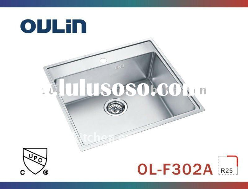CUPC Undermount Stainless Steel kitchen sink(OL-F302A)