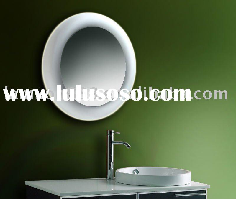 Circular Decorative Bathroom Mirror With Light