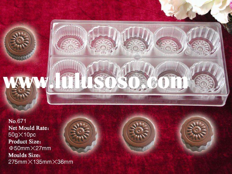 DIY Polycarbonate belgian white chocolate mould