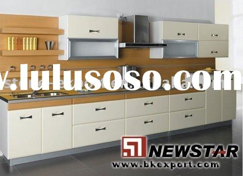 Discount kitchen cabinets with grantie countertop,faucet and steel sink