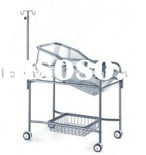 Hospital Crib with Lockable Casters