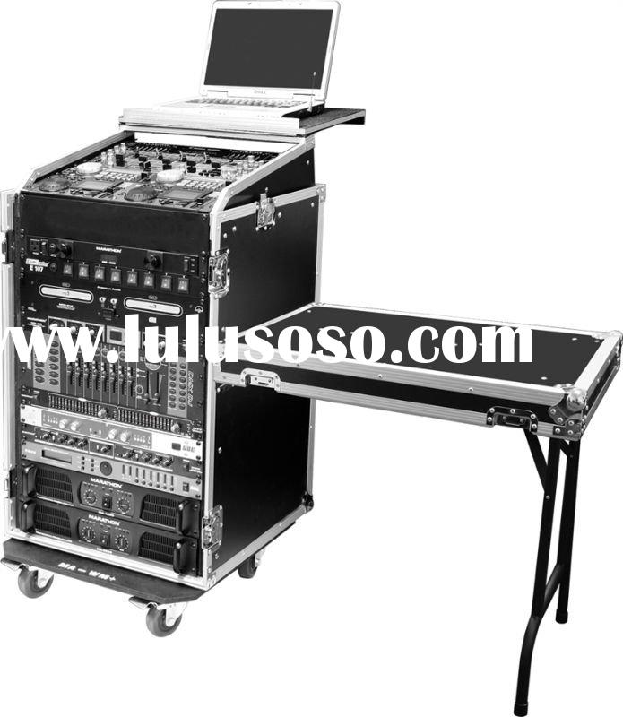 Laptop Combo Racks/Cases with tables & caster board