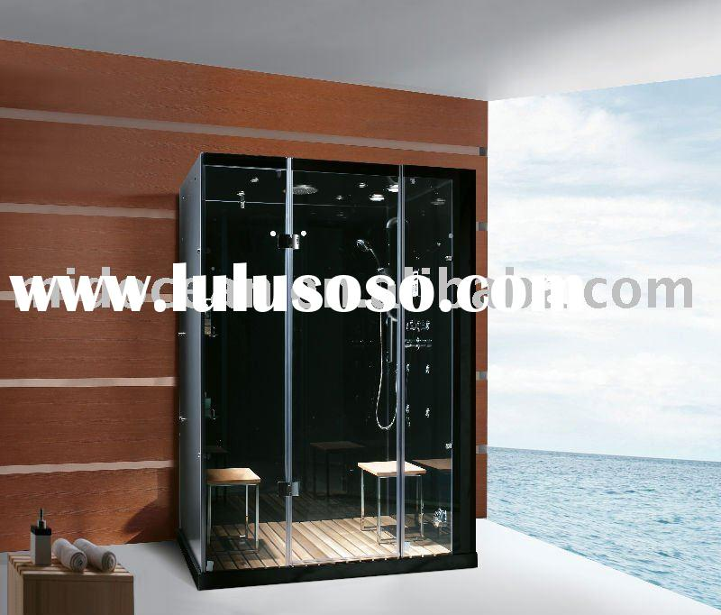 Luxury glass steam room