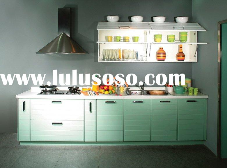 Small MFC Kitchen Cabinets /Cabinetry/Kitchen Furniture/Kitchen Cupboard/Melamine Kitchen Cabinets f