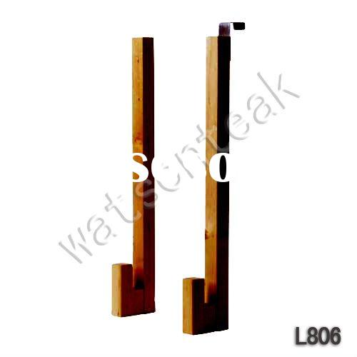 Teak Coat hooks Bathroom accessories  (Original Factory)