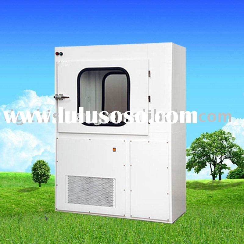 ZS-FL-1300 Air shower pass box with mechanical doors for clean room