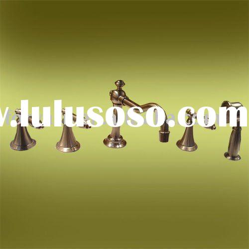 brushed nickel bathroom lavatory bathtub faucet,bathtub mixer,bathroom accessories