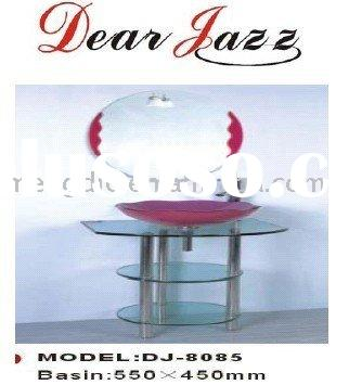 new shower room basin glass basin(DJ-8085, wash hand basin, art basin)