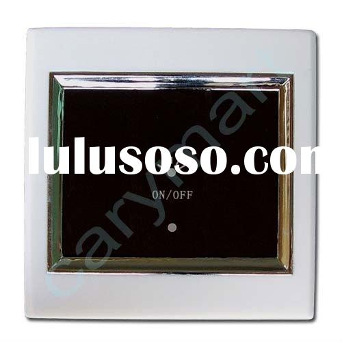 1 Gang LCD Touch Wall Light Switch, 220v Remote Control Switch, Decorative Light Wall Switch