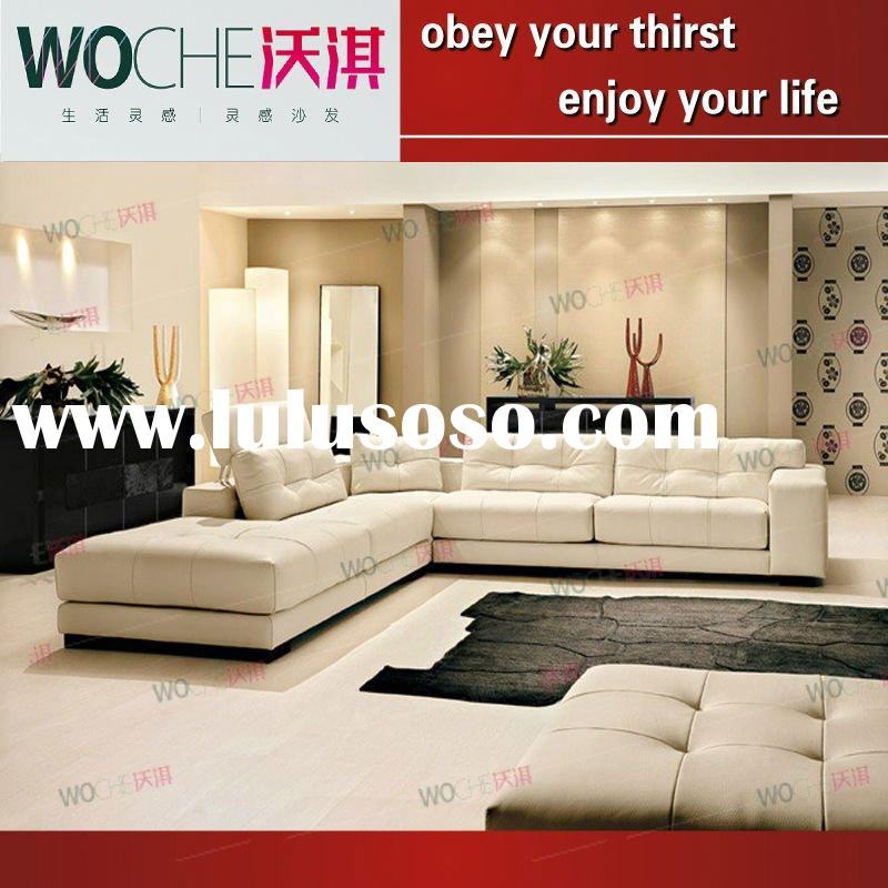 Living Room Furniture Leather Sofa Living Room Furniture