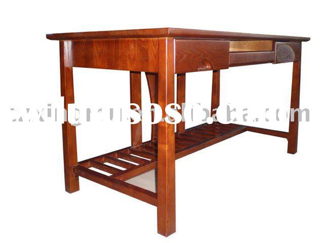 Antique&High Quality Office Furniture Set - solid wood office desk