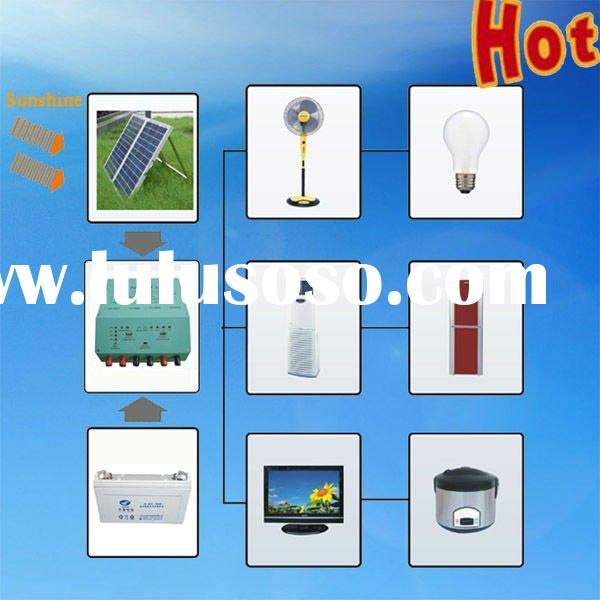 GP Manufacturer Direct Wholesale Easy to Operate 1000W solar electricity home system