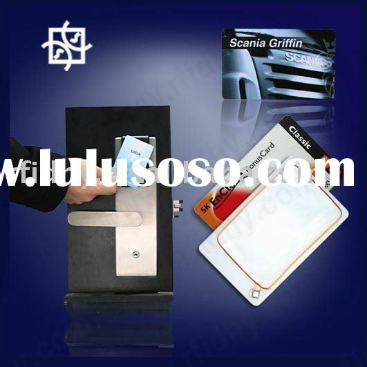 Golden suppliers offer High quality plastic blank pvc key card(colorful printing)