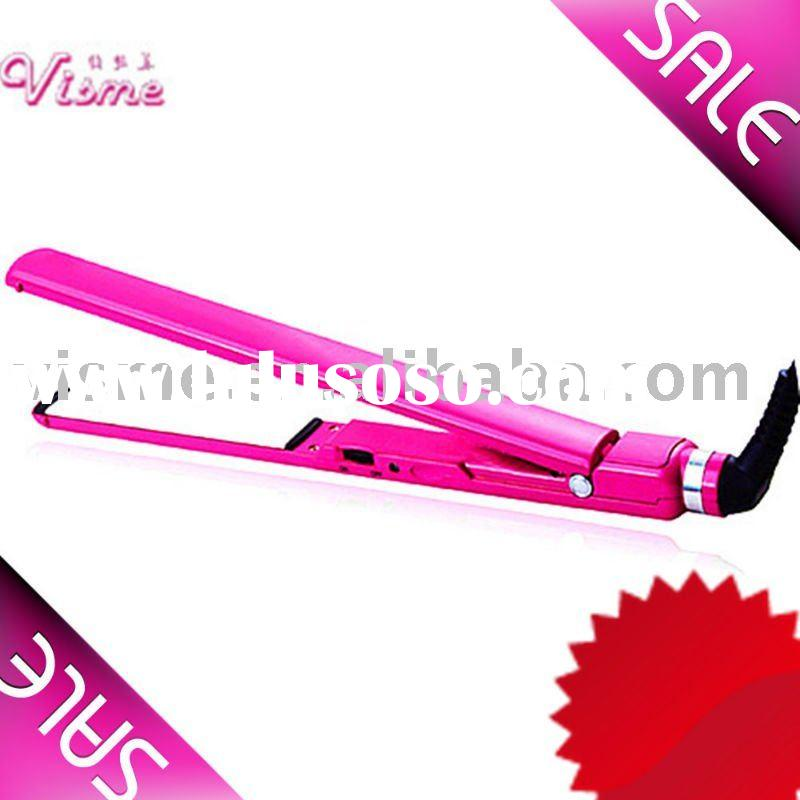 Human hair straightener hair iron holder