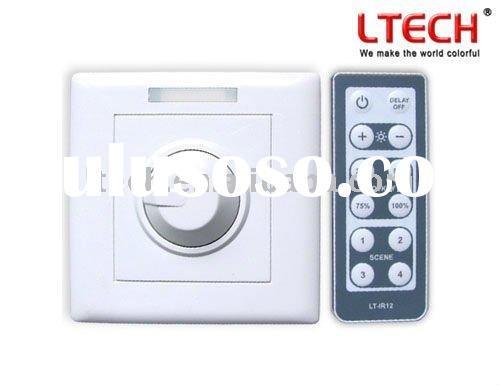 Led wall switch dimmer IR remote controller