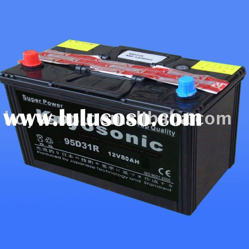 Provide high quality 12v 80Ah Dry charge battery