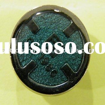 Quality Service Metal Button