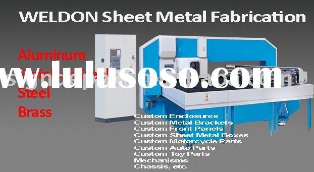 Sheet Metal Fabrication - Kiosk, Enclosure, Case, Network Cabinet