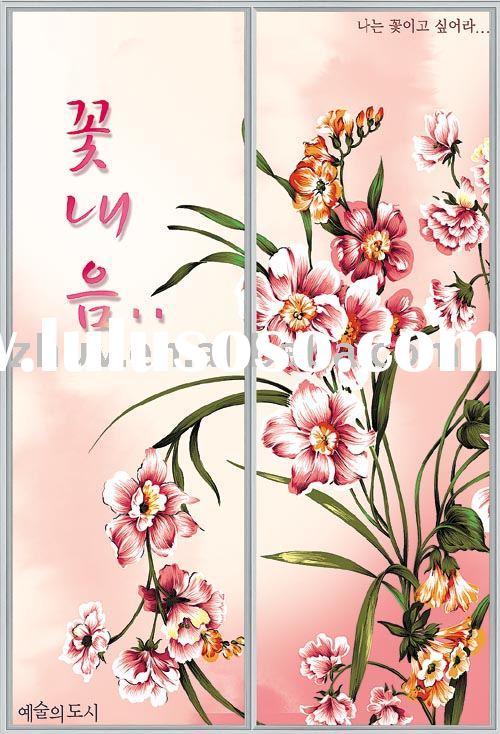 UV Color Painting Panel for room divider (Ideal material for Wardrobes, Sliding Doors, Cabinets and
