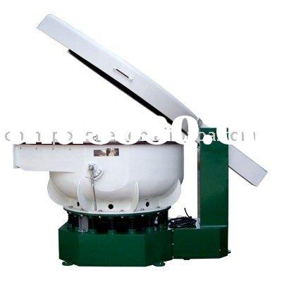 Unfinished Wood Furniture Parts on Aluminum Parts Polisher Machine