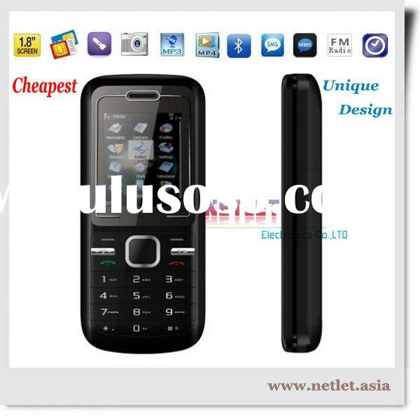 2011 Newest Cheapest Dual Sim fashion mobile phone C1