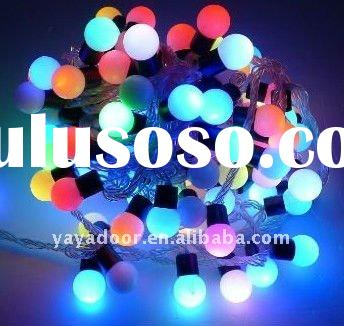 HOT SALE Latest string LED christmas fairy lights SEVEN COLORS flashing CMY001