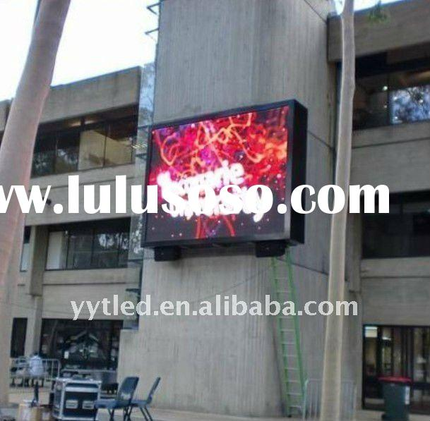 reliable shenzhen supplier P16 outdoor full color led display billboard for advertising