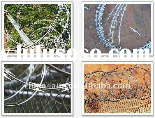 Anti-theft Barbed Wire Mesh