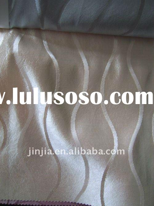 100% polyester jacquard  curtain fabric(home textile)