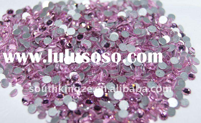 1200 pcs 2mm Nail Art Rhinestones design in purple color