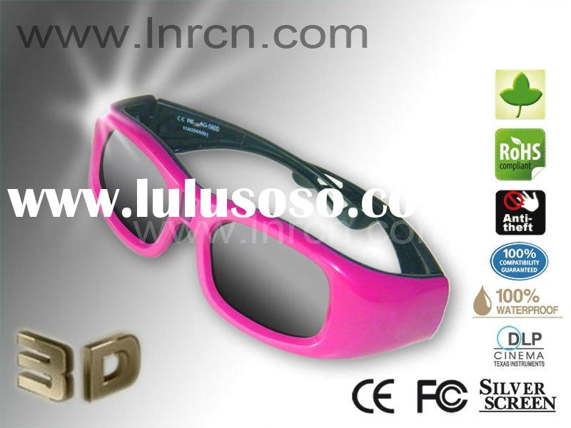 High quality 3D active shutter glasses for pc&tv