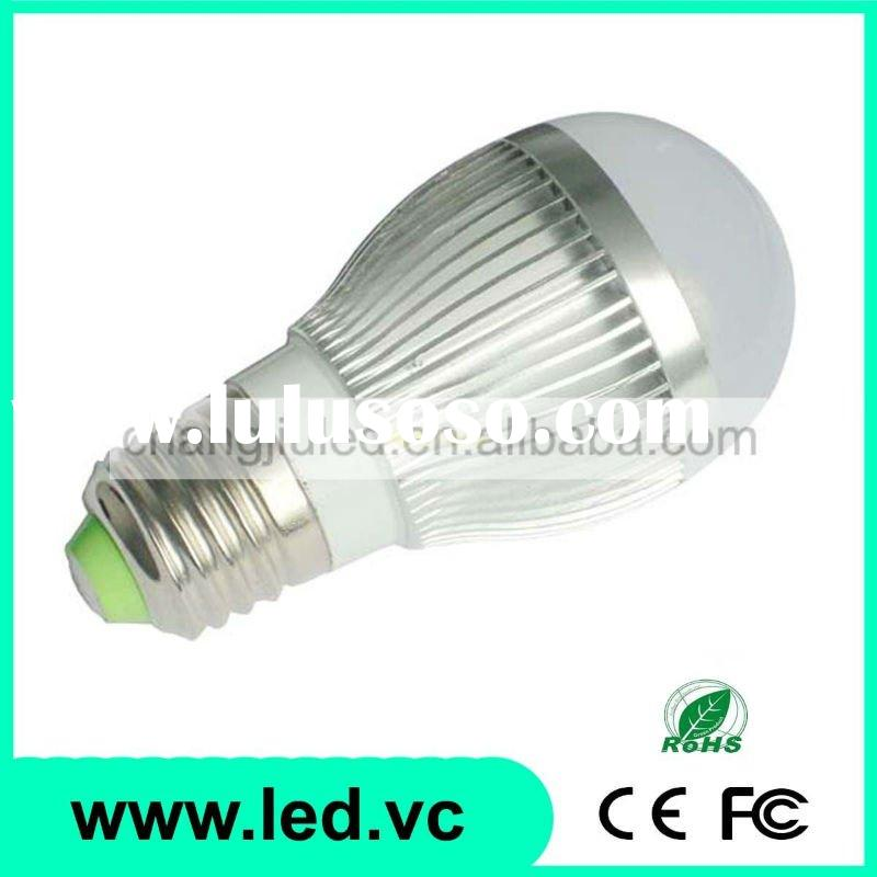 LED Bulb 3x1W AC100V-245V Voltage High Power E27 LED Bulb