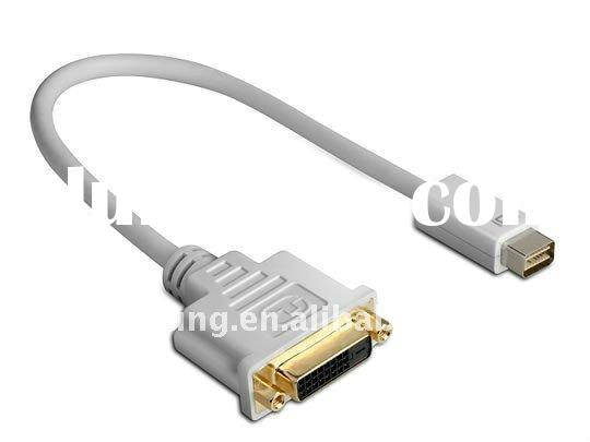 Mini displayport Male to hdmi male,vga female,dvi femal converter