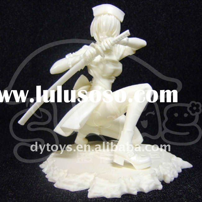 Vinyl Japan Samurai Girl / Plastic Japan Girl
