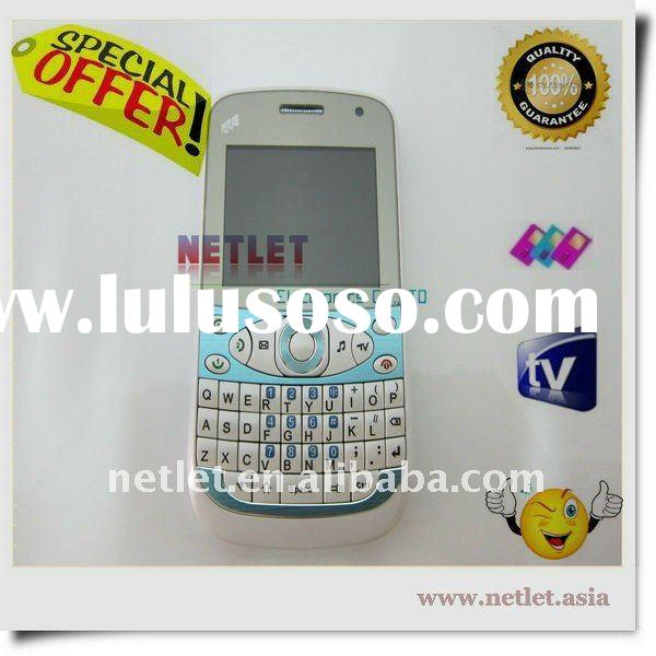 tv mobile phone with Qwerty tri-sim