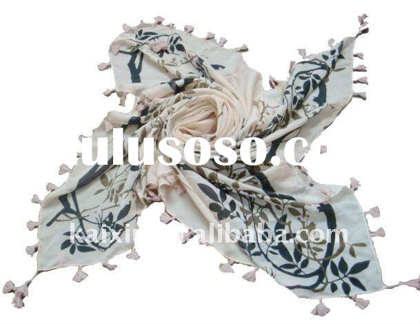 100%Silk Perfect Printed Square Scarf