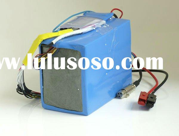 36V 20Ah lithium rechargeable polymer battery pack