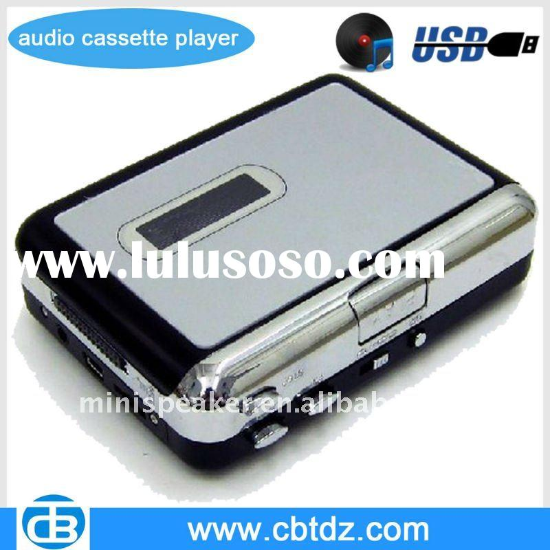Audio Cassette Player,USB Cassette Player Converts into MP3s