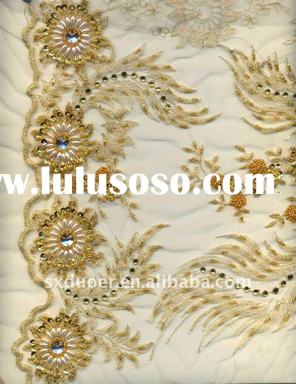 Handwork On Sarees, Hand Work Saree Designs, Handwork Sarees