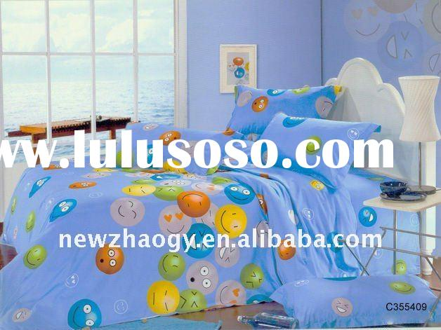 High quality cotton printed Bedding Set