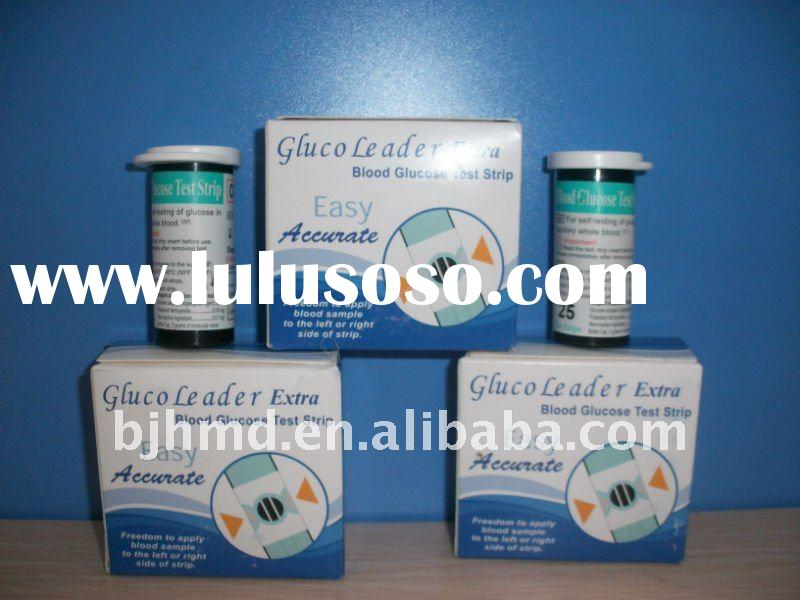 blood glucose meter test strips (Extra model)