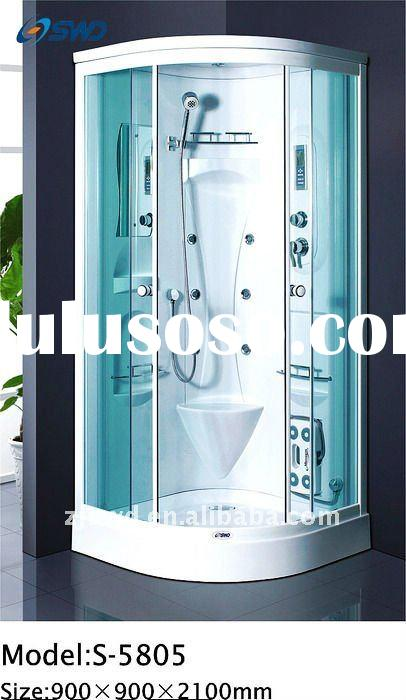 cheap !!! popular !!! steam room with aluminum fram ,sliding glass door ,bathroom cabin