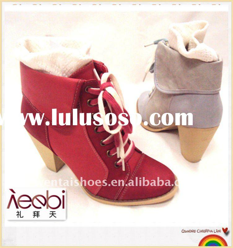 women's wood heel fashion shoes,wood high heel shoes