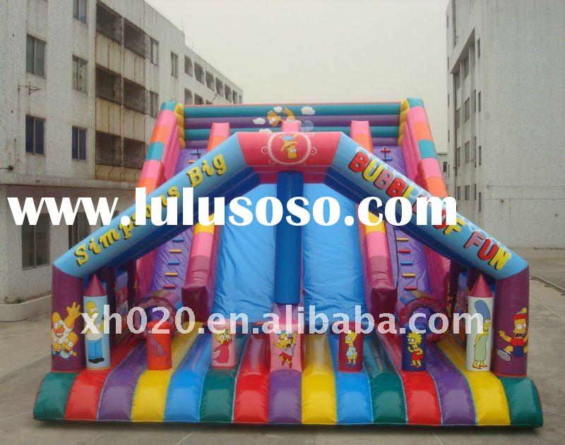 2011 New inflatable giant simpson slides