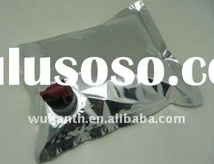 3 liter aluminum foil wine bag with valve