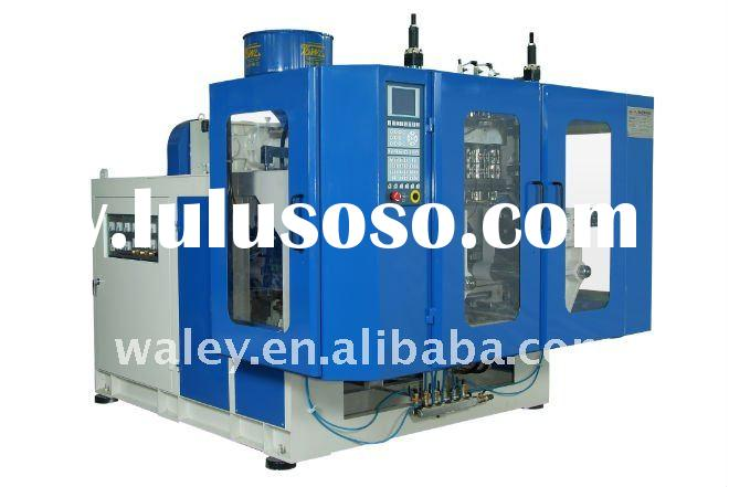 CPJ55III Single-screw Three-dies Double Work-stations Automatic Plastic Blow Molding Machine