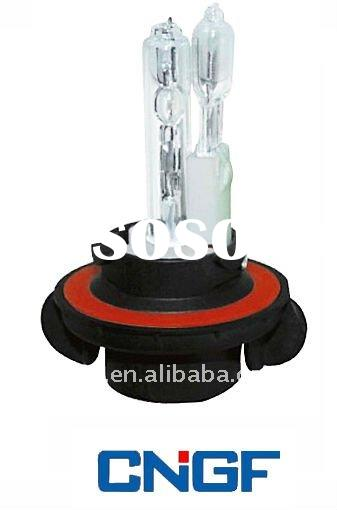 HID bulb double with one HID & one halogen H13-2